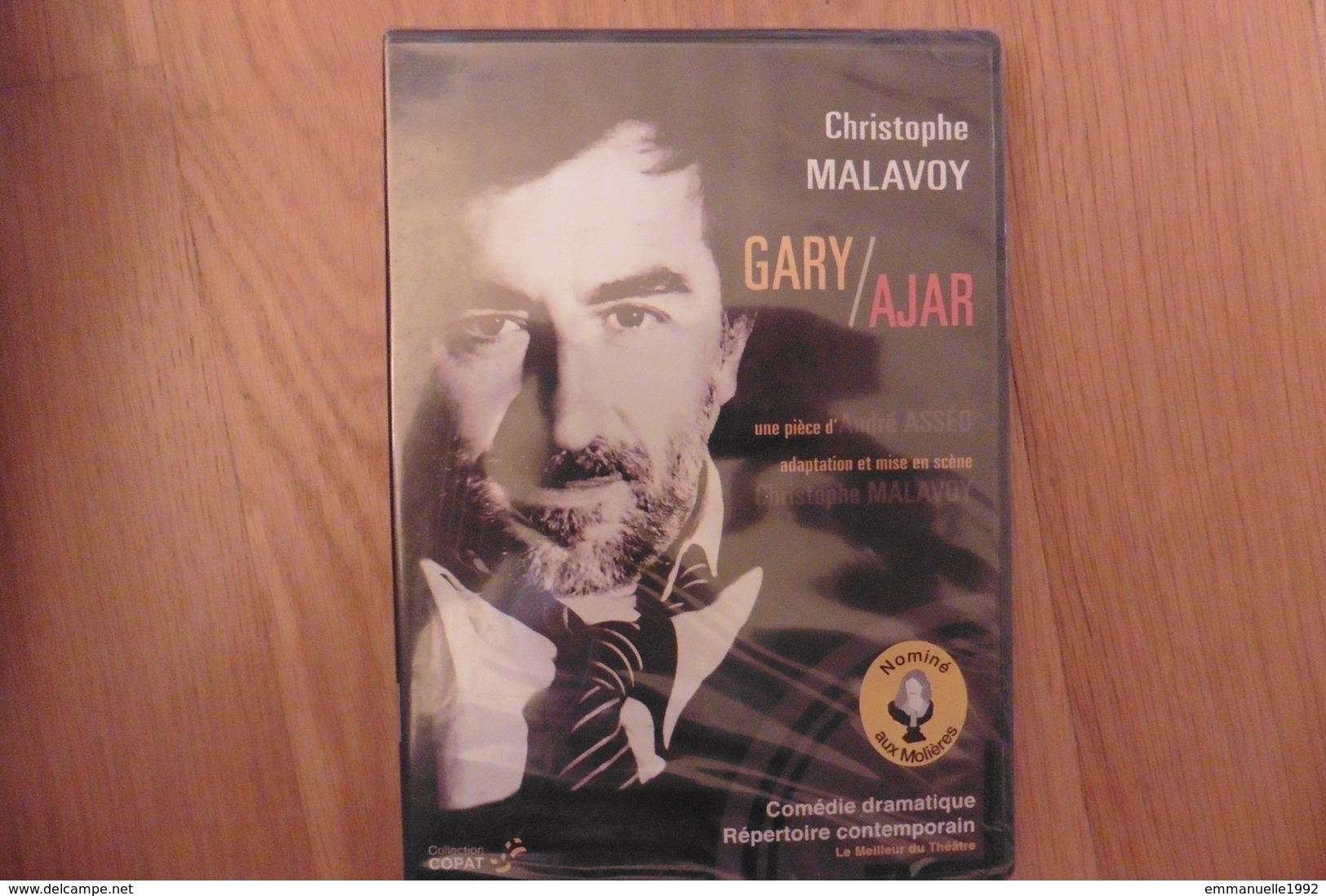 DVD Theatre - Gary / Ajar Avec Christophe Malavoy - Neuf Sous Cellophane - Molieres 2008 - Romain Gary - DVD
