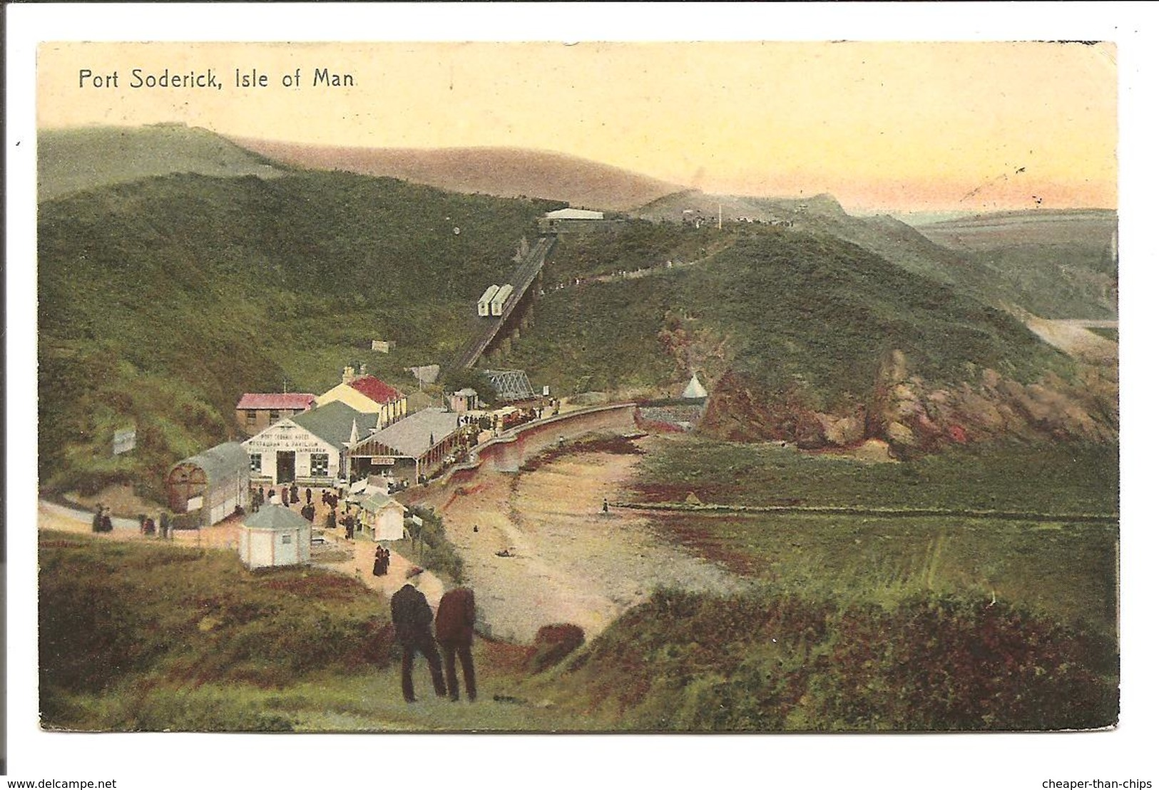 Port Soderick, Isle Of Man.- Boots Pelham Series 6286 - Isle Of Man