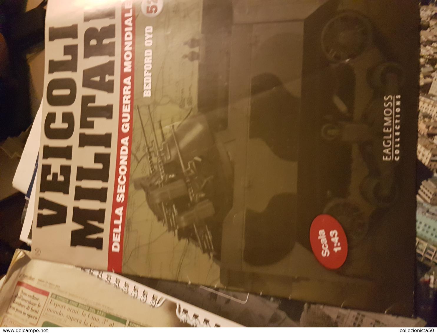 VEICOLI MILITARI SECONDO GUERRA MONDIALE (MODELLINO ESCLUSO) - Livres, BD, Revues