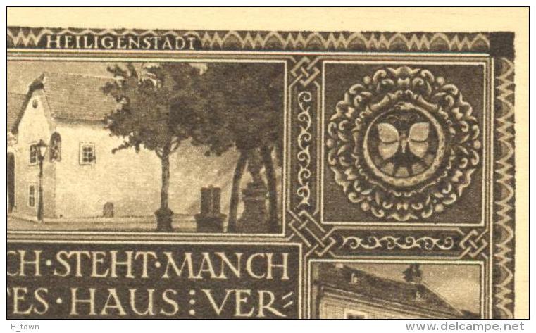 5228  Papillon: Entier (carte Postal) D'Autriche, 1927 -  Butterfly On Beethoven Stationery Postcard From Austria, Mint - Schmetterlinge
