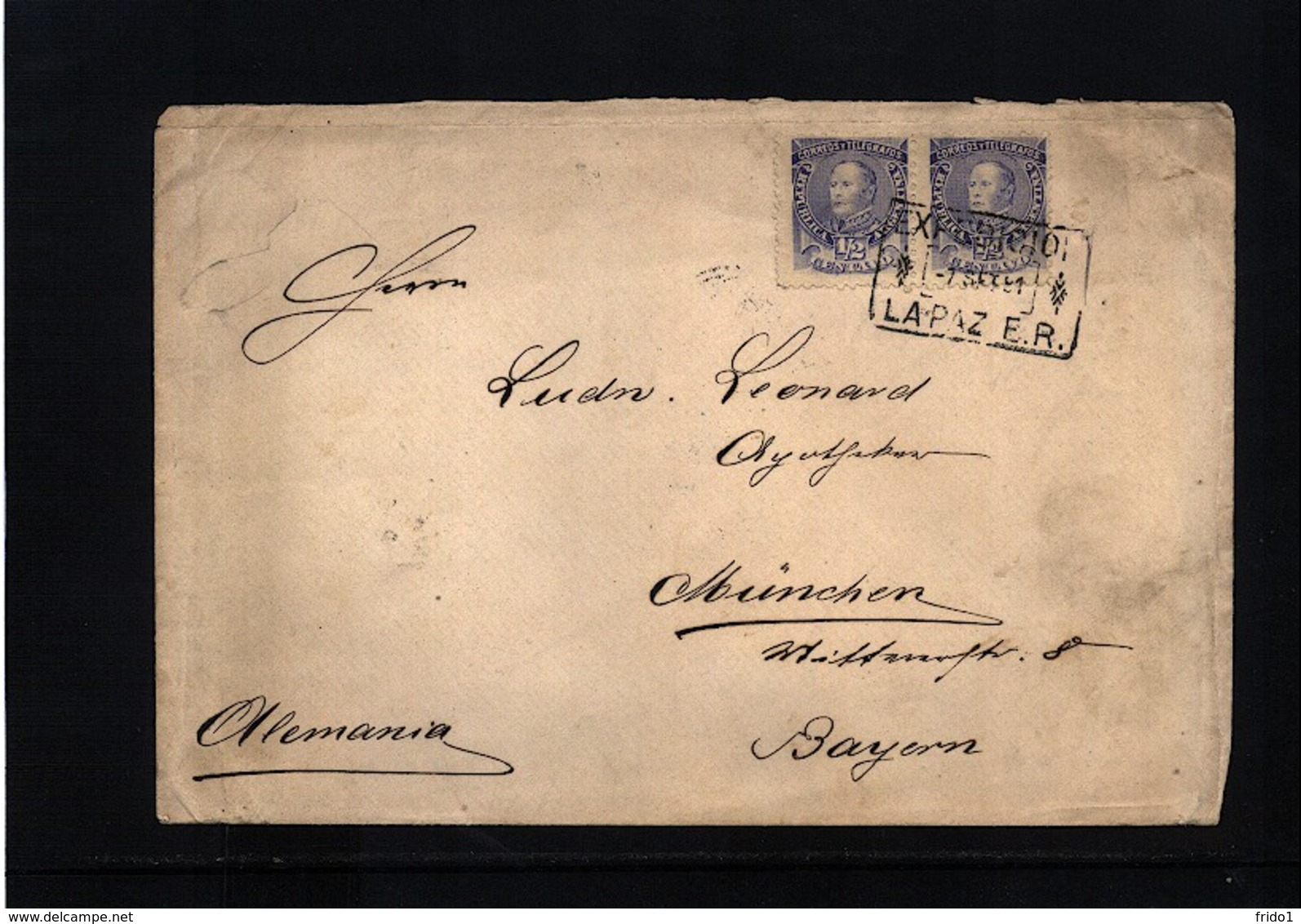 Argentina Interesting Letter - Lettres & Documents