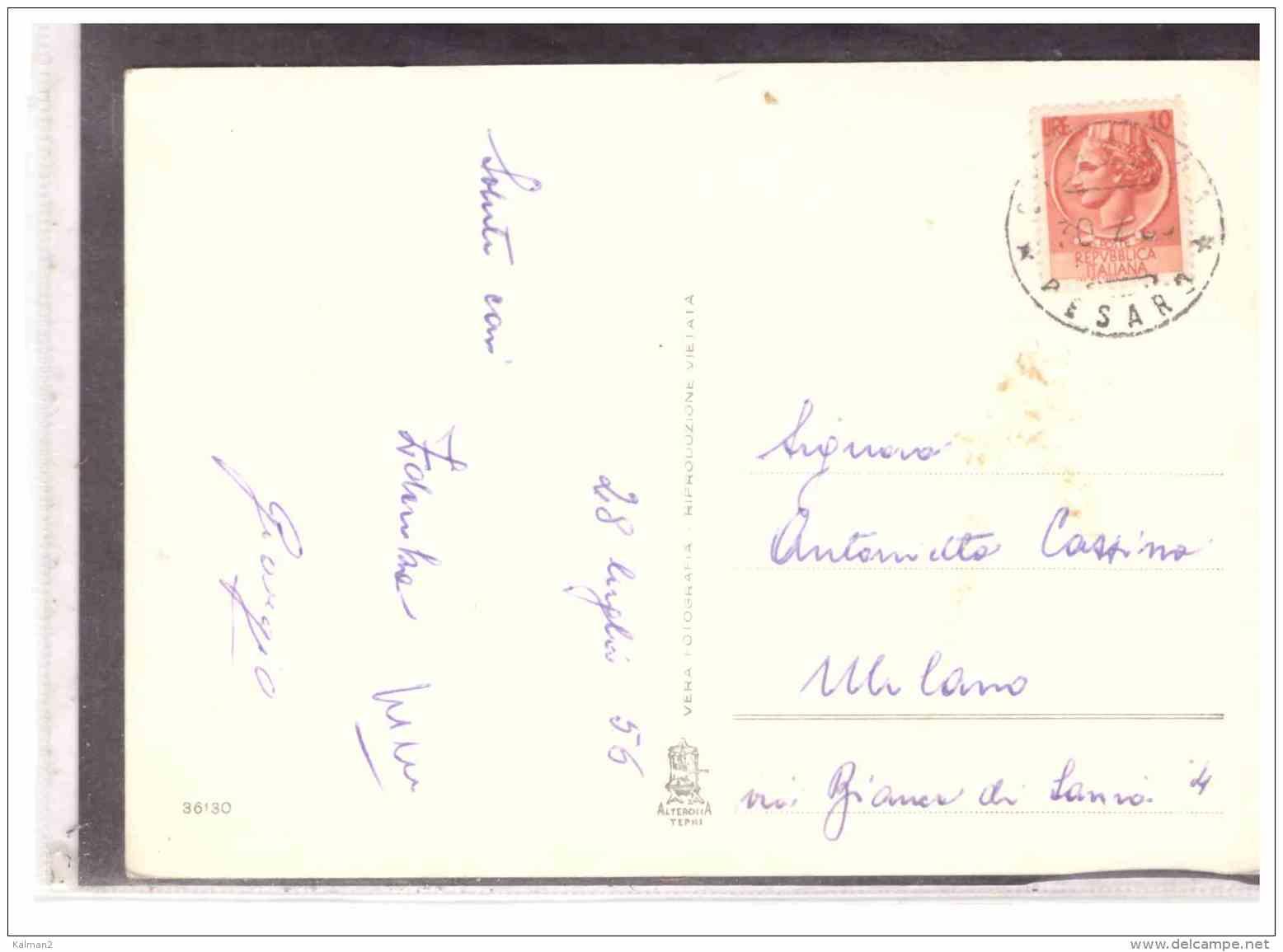 15840   -   GRADARA,  ROCCA MALATESTIANA   /   VIAGGIATA - Italia