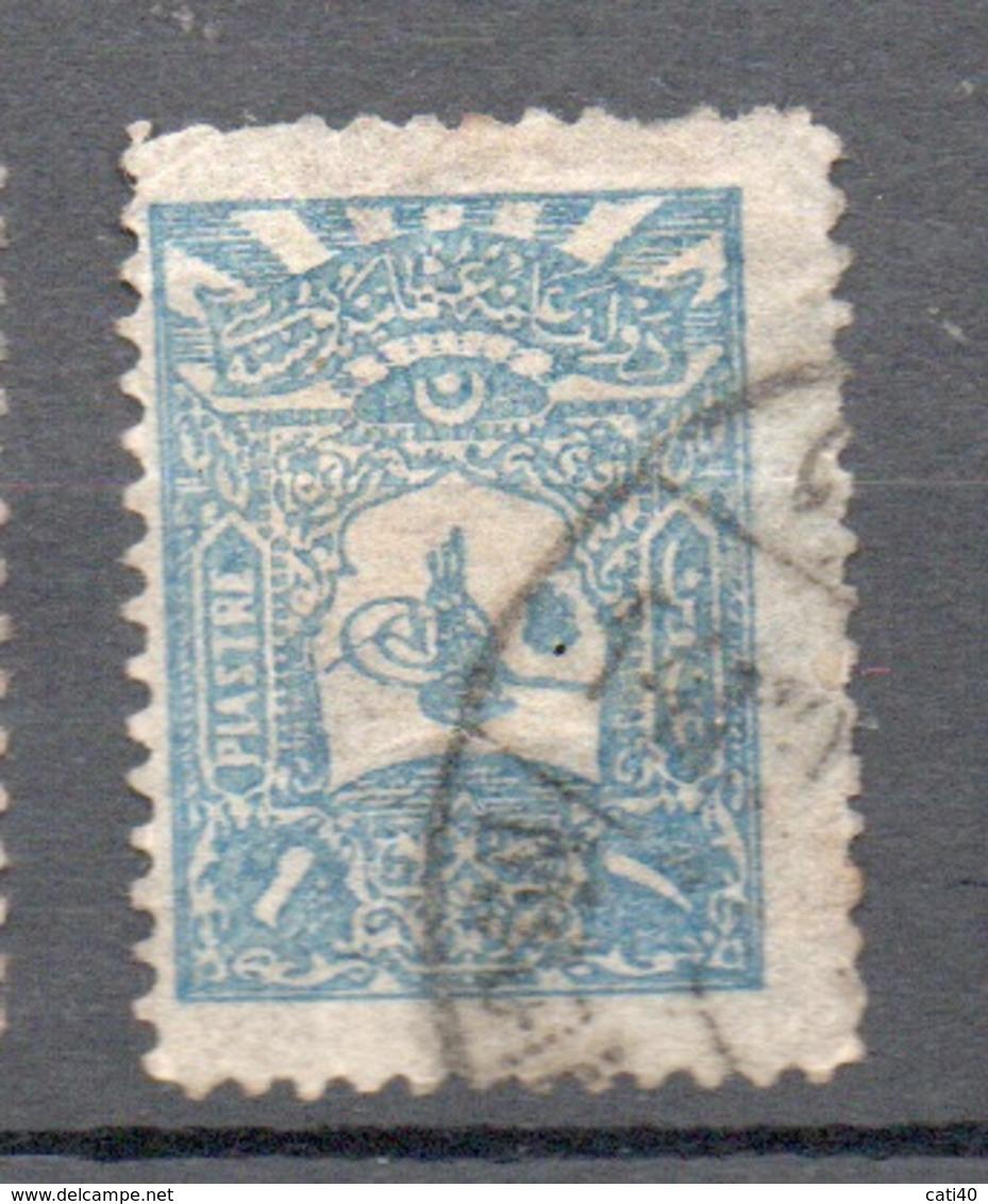 TURCHIA  1906/..... 1 P. - 1858-1921 Ottoman Empire