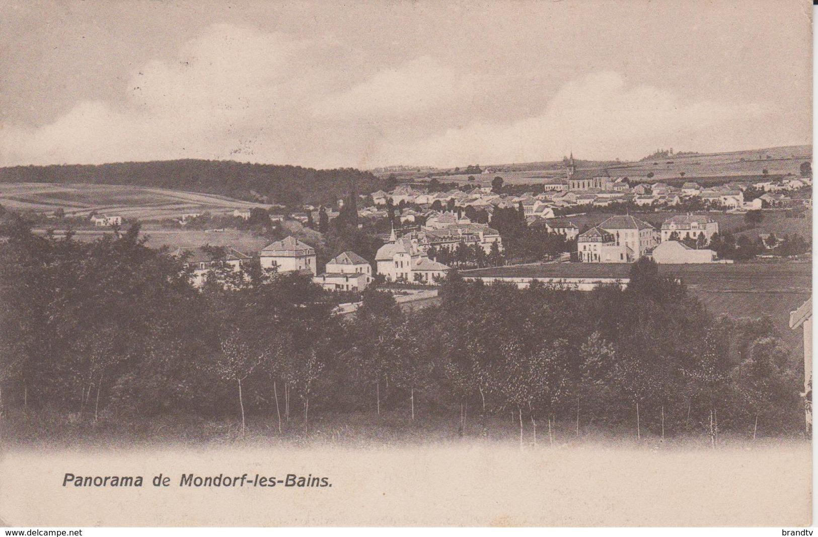 MONDORF LES BAINS  PANORAMA - Mondorf-les-Bains
