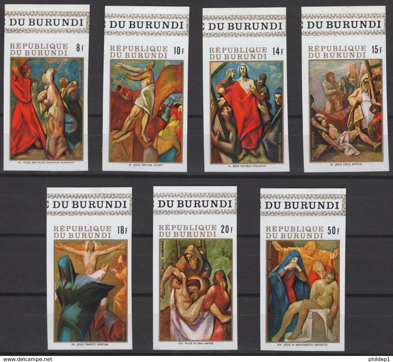 Burundi 1970. COB: N° PA129/135 ND *, MH. - Burundi