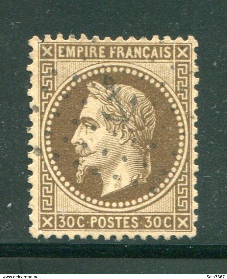 Y&T N°30- Ancre Noire - 1863-1870 Napoleone III Con Gli Allori