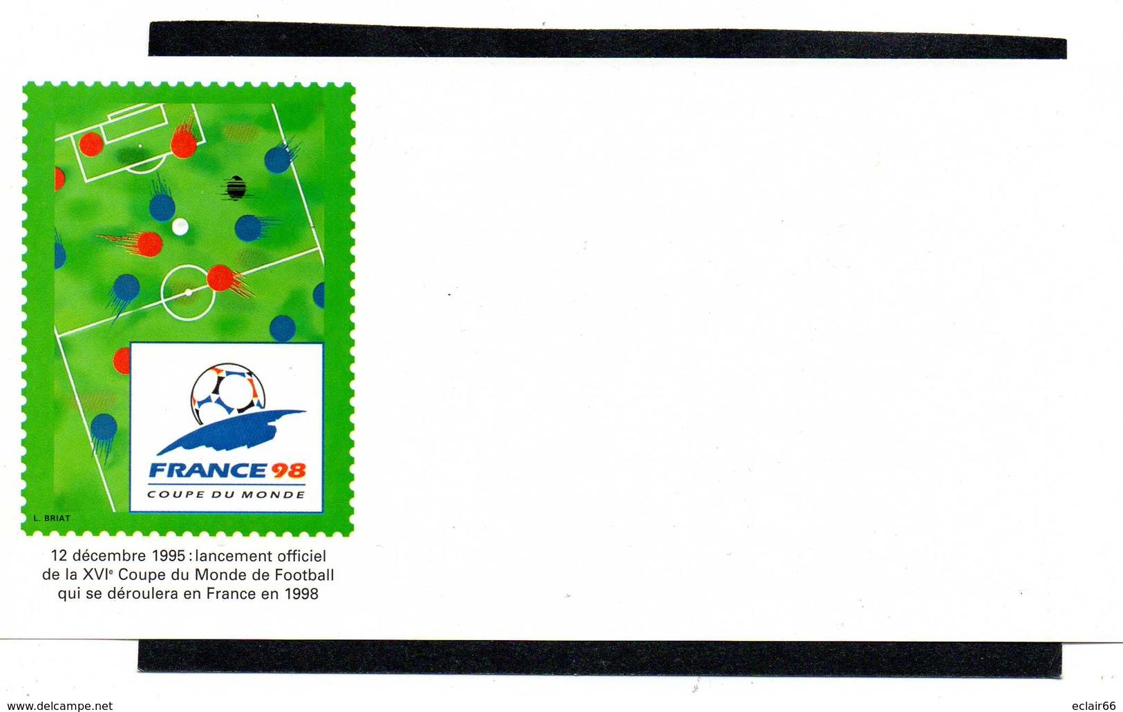 FRANCE 1 Enveloppe PAP Prêt à Poster N°YT 2985-E3 - 1997 -+Papier A Lettre Coupe Du Monde Football France98 - Prêts-à-poster:  Autres (1995-...)