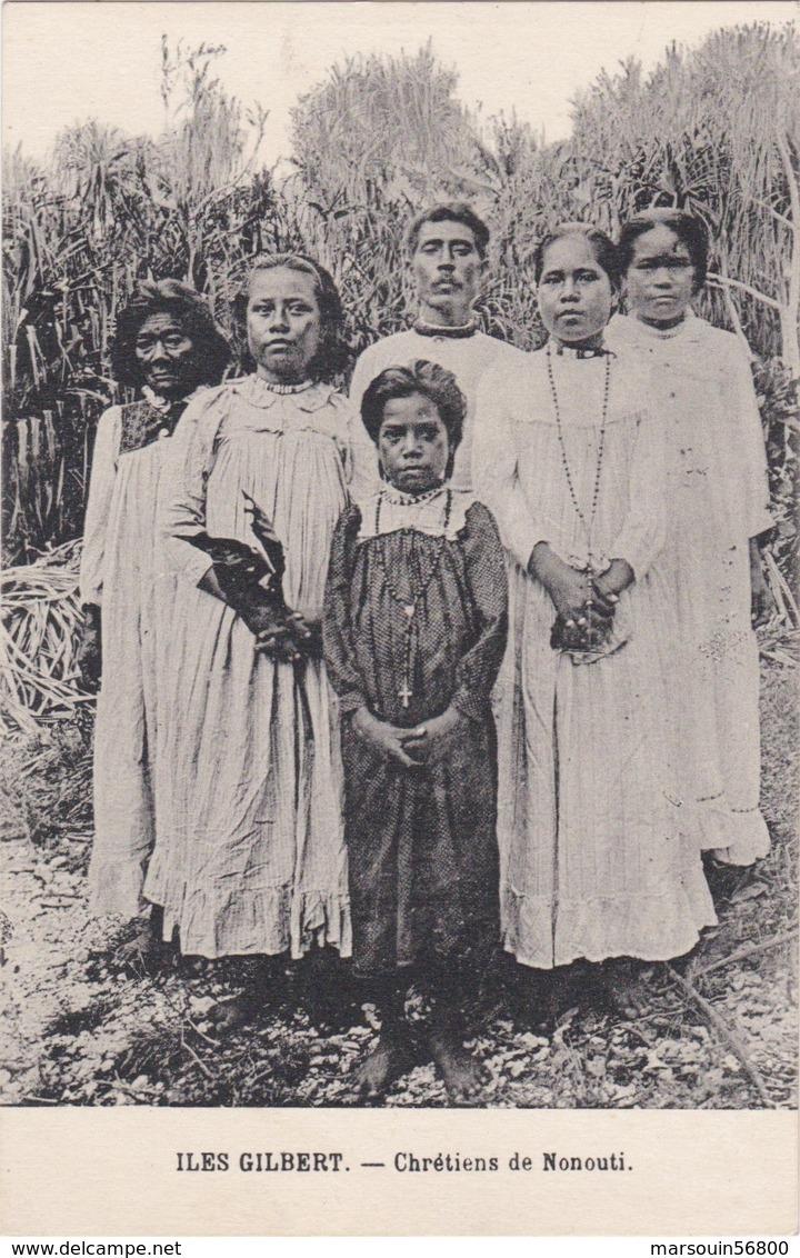CPA KIRIBATI Iles Gilbert Chretiens De Nonouti - Kiribati
