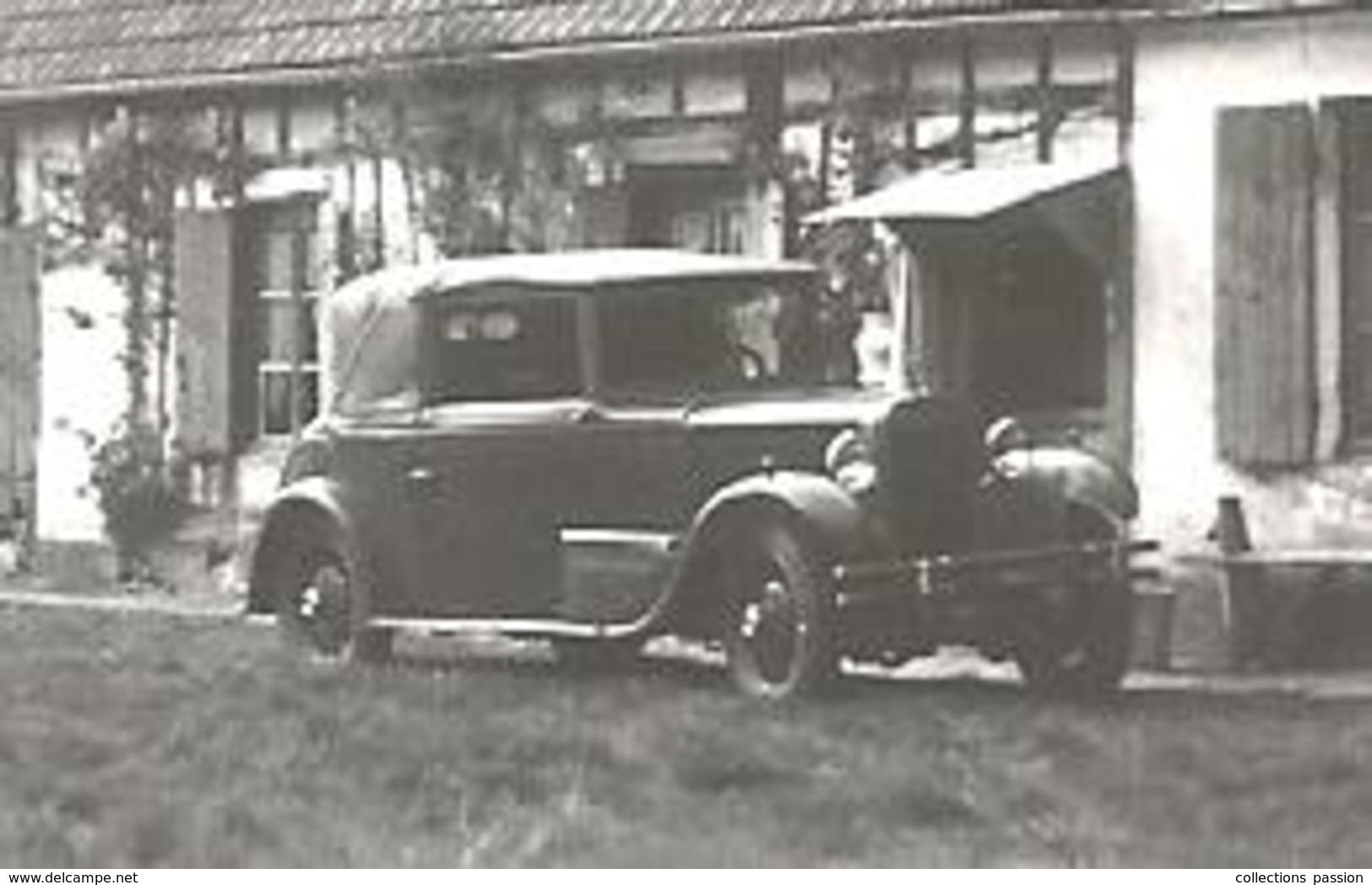 Photographie , 11 X 7,automobile , 2 Scans - Cars