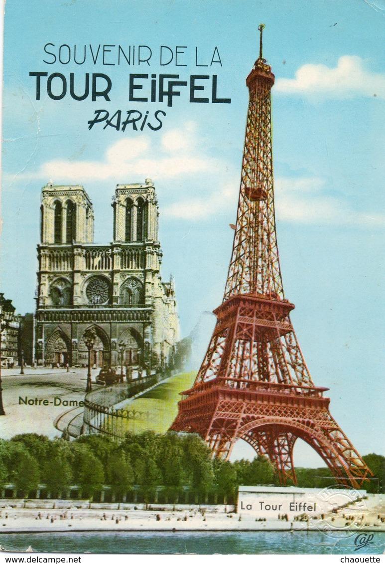 Souvenir Du Sommet   1970 - Eiffelturm