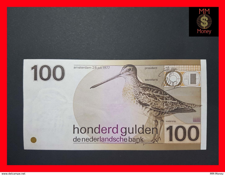 Netherlands 100 Gulden 1977 P. 97 XF-AU - [2] 1815-… : Reino De Países Bajos