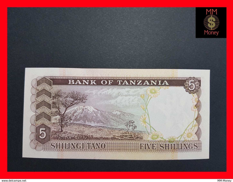 Tanzania  5 Shillings  1966  P. 1 UNC - Tanzanie