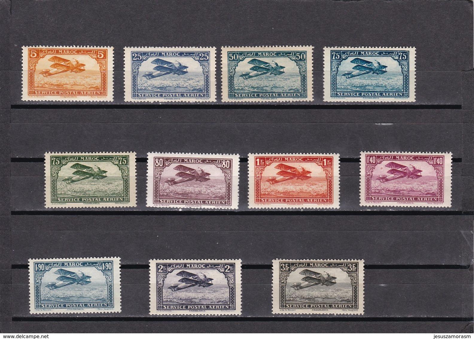 Marruecos Nº A1 Al A11 - Marruecos (1891-1956)