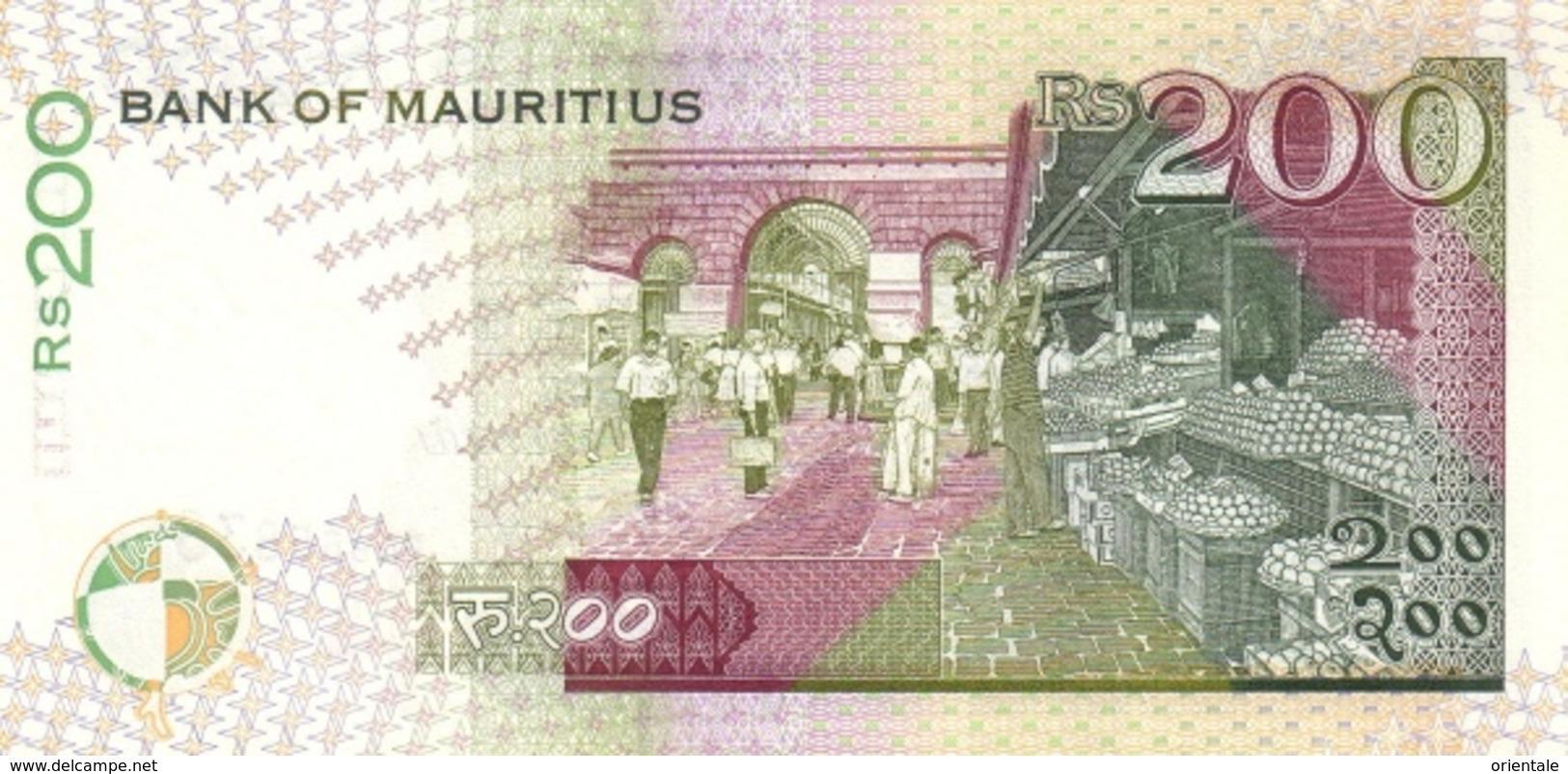 MAURITIUS P. 45 200 R 1998 UNC - Maurice