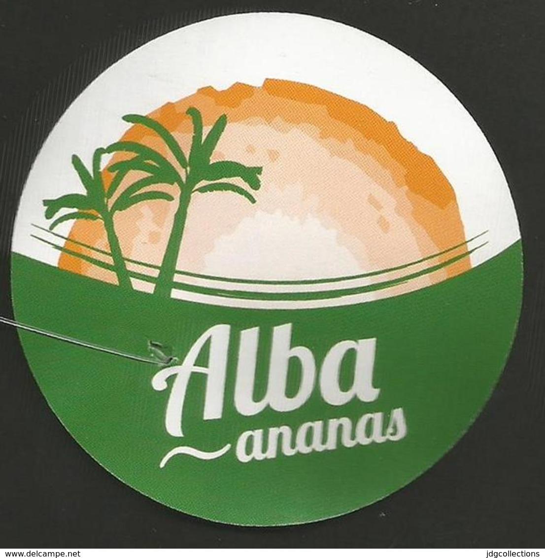 # PINEAPPLE ALBA Fruit Tag Balise Etiqueta Anhanger Ananas Pina Costa Rica - Fruits & Vegetables
