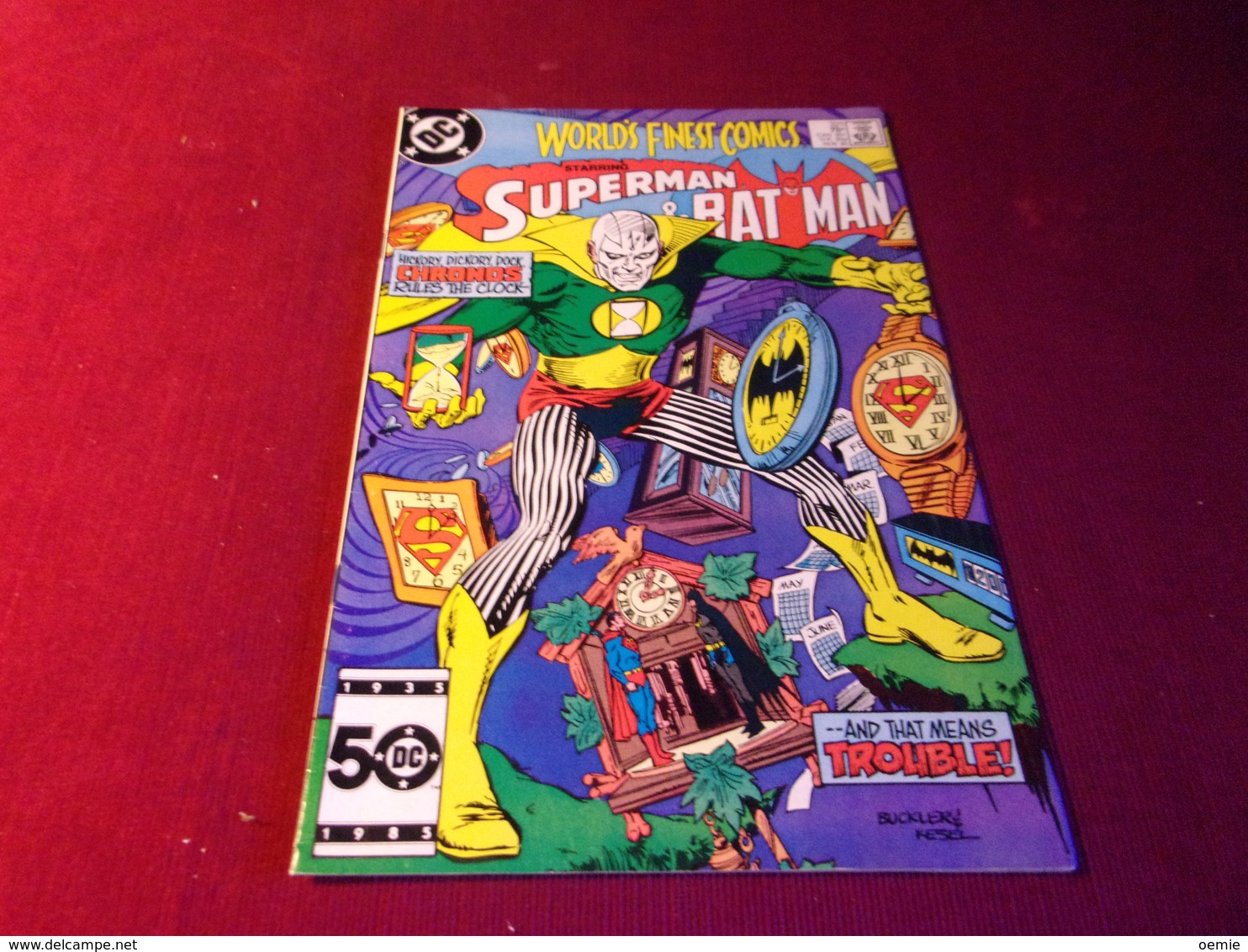WORLD'S FINEST COMICS  SUPERMAN & BAT MAN   No 321 NOV 85 - Autres