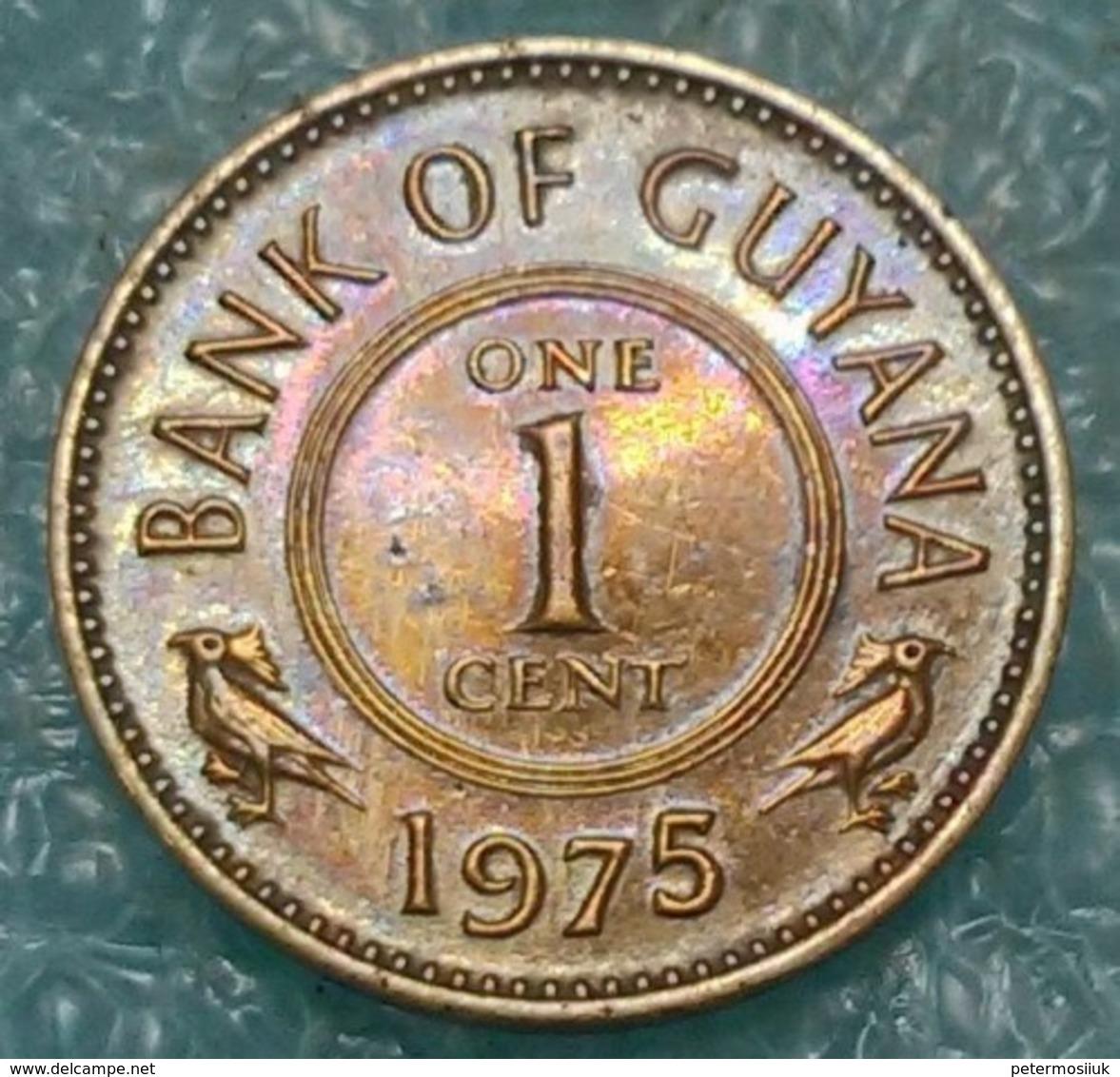 Guyana 1 Cent, 1975 - Guyana