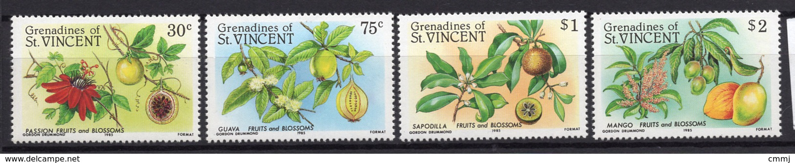 1985 - GRENADINE OF ST.VINCENT - Mi. Nr. 409/412 - NH - (UP.207.34) - St.Vincent E Grenadine