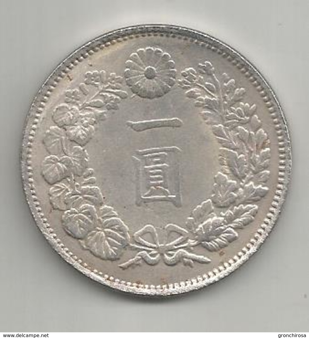 Giappone, 1875, 420 Grains Trade Dollar, Weight Gr. 19,17. - Giappone