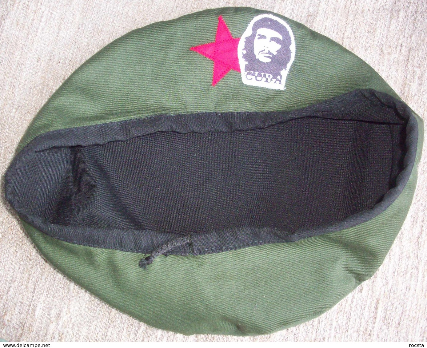 Military Style Green Beret - Che Gevara Cuba - Hoeden