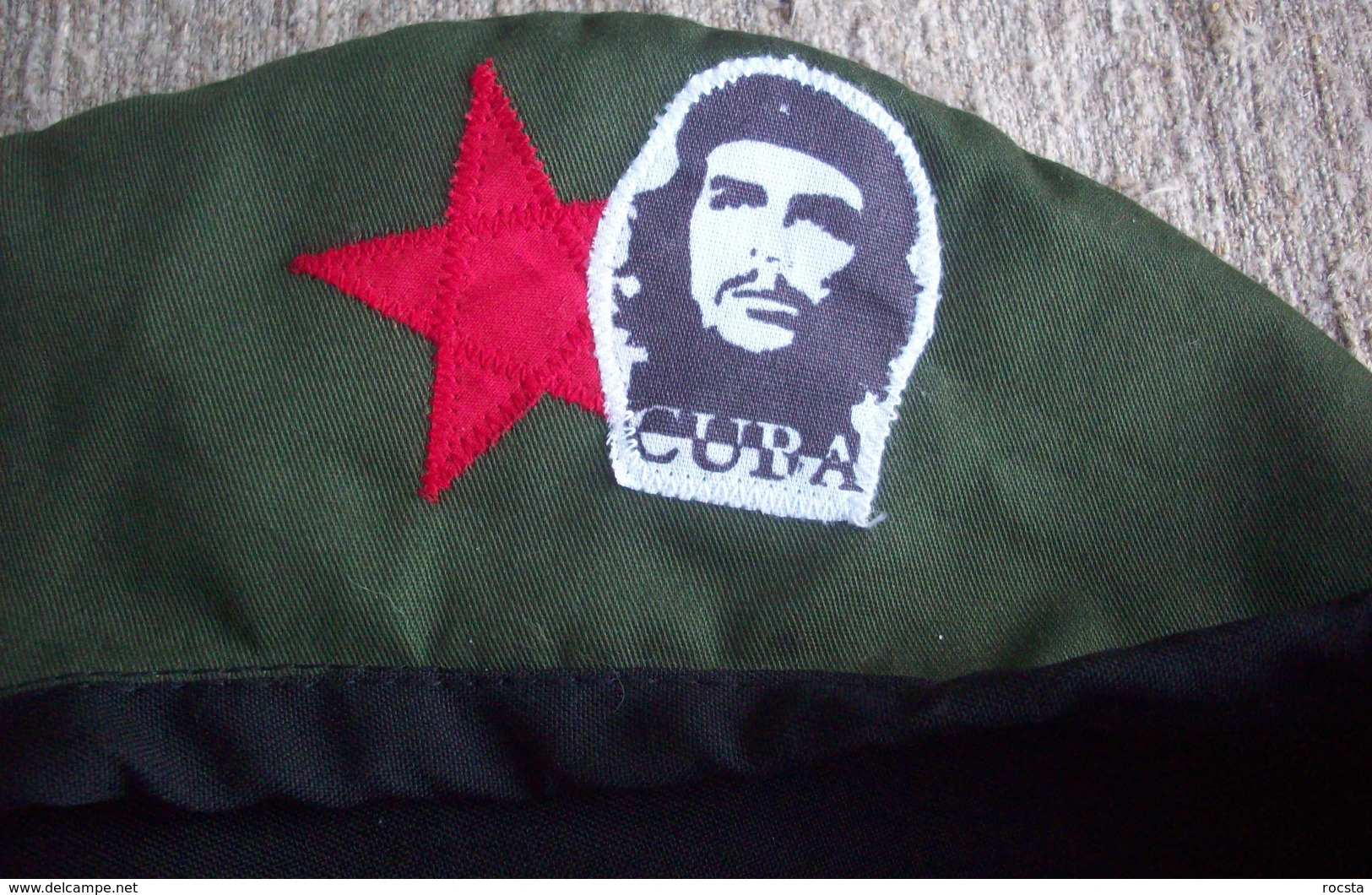Military Style Green Beret - Che Gevara Cuba - Helme & Hauben