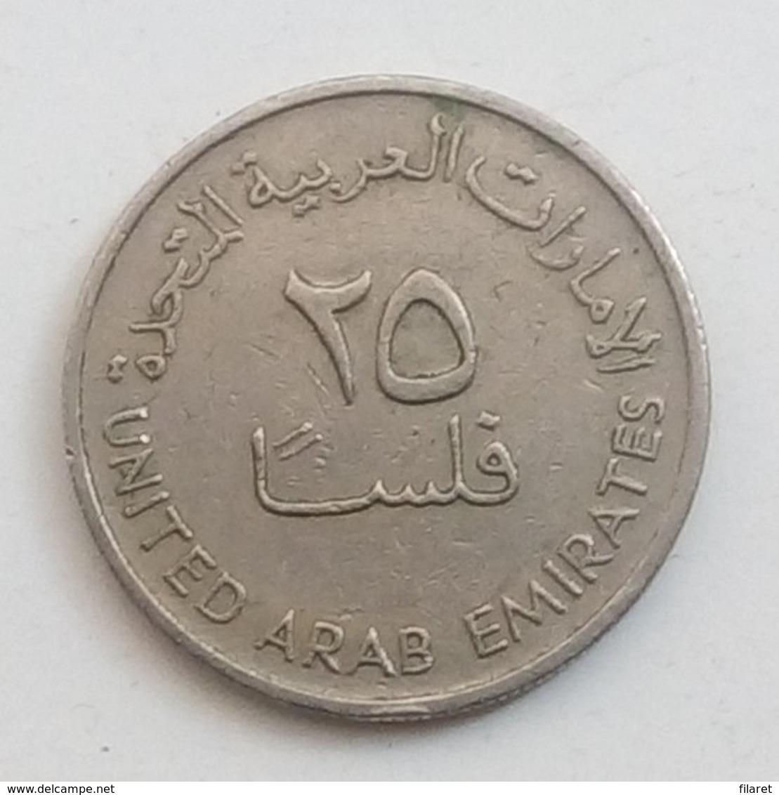 20 FILS,UNITED ARAB EMIRATES - Emirats Arabes Unis