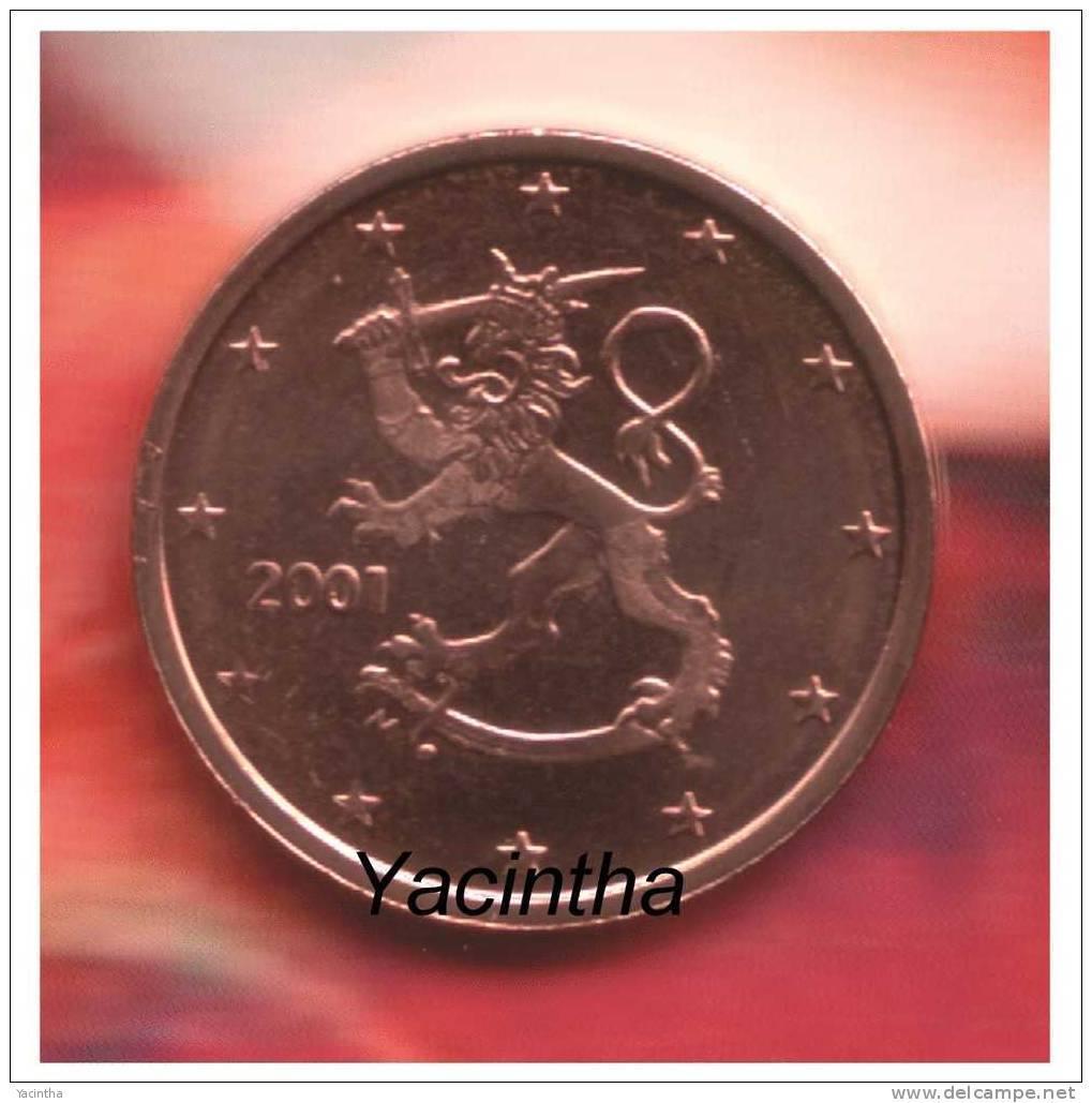 @Y@  Finland  1 - 2 - 5 Ct  2001  Unc - Finland