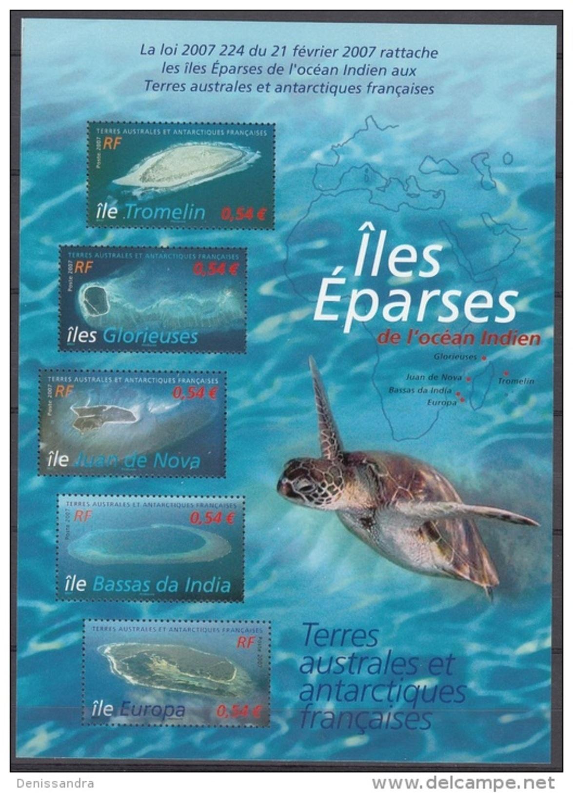 TAAF 2007 Yvert Bloc Feuillet 18 Neuf ** Cote (2015) 10.50 Euro Rattachement Des îles Eparses - Blocs-feuillets