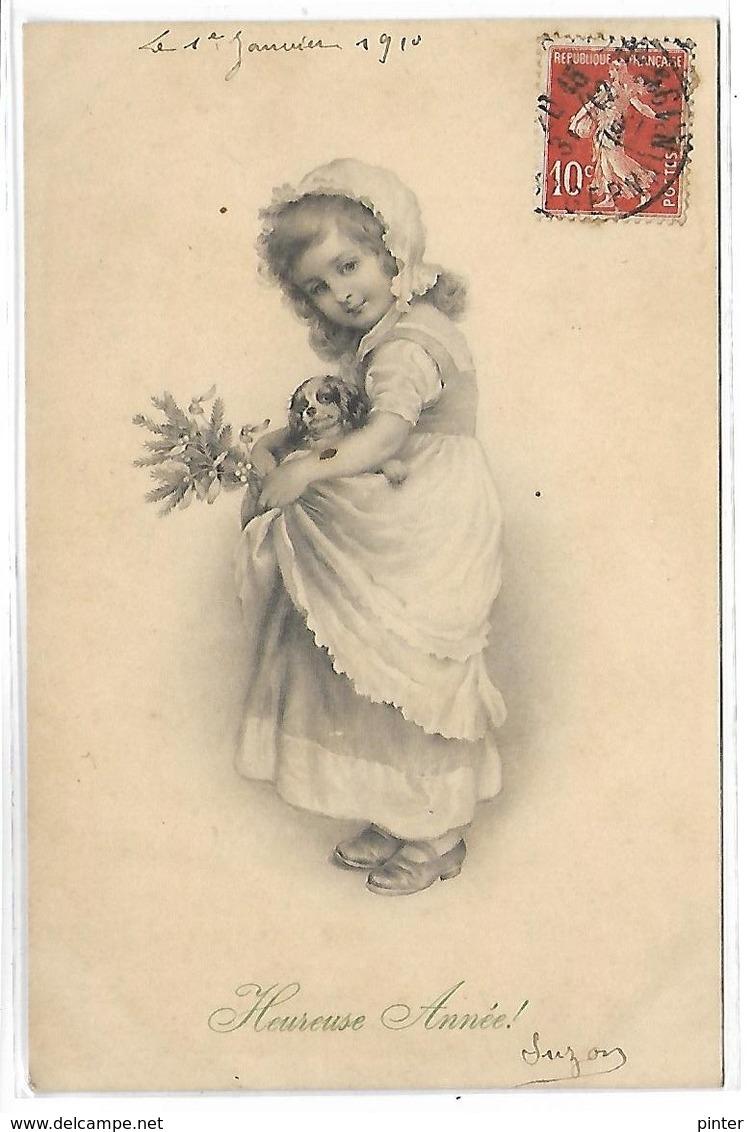 ENFANT Et CHIEN  - Illustrateur MM VIENNE 238 - Vienne