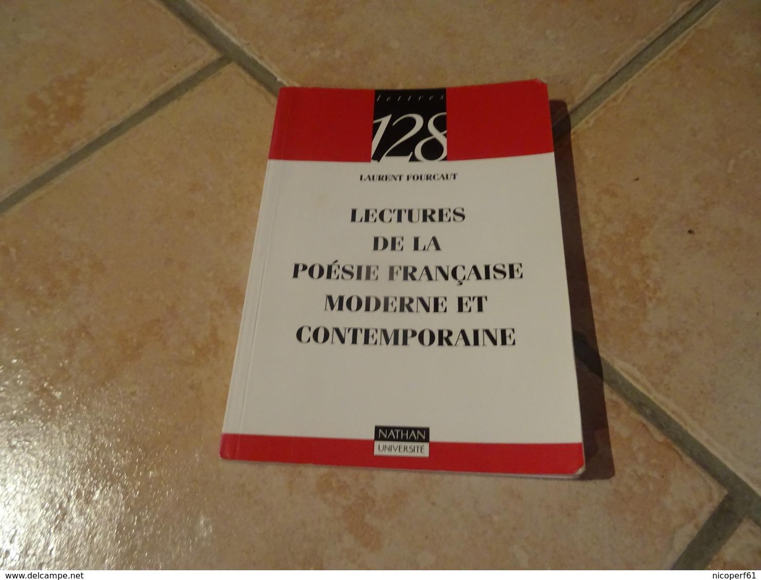 Lectures De La Poésie Française Moderne Et Contemporaine - Poésie