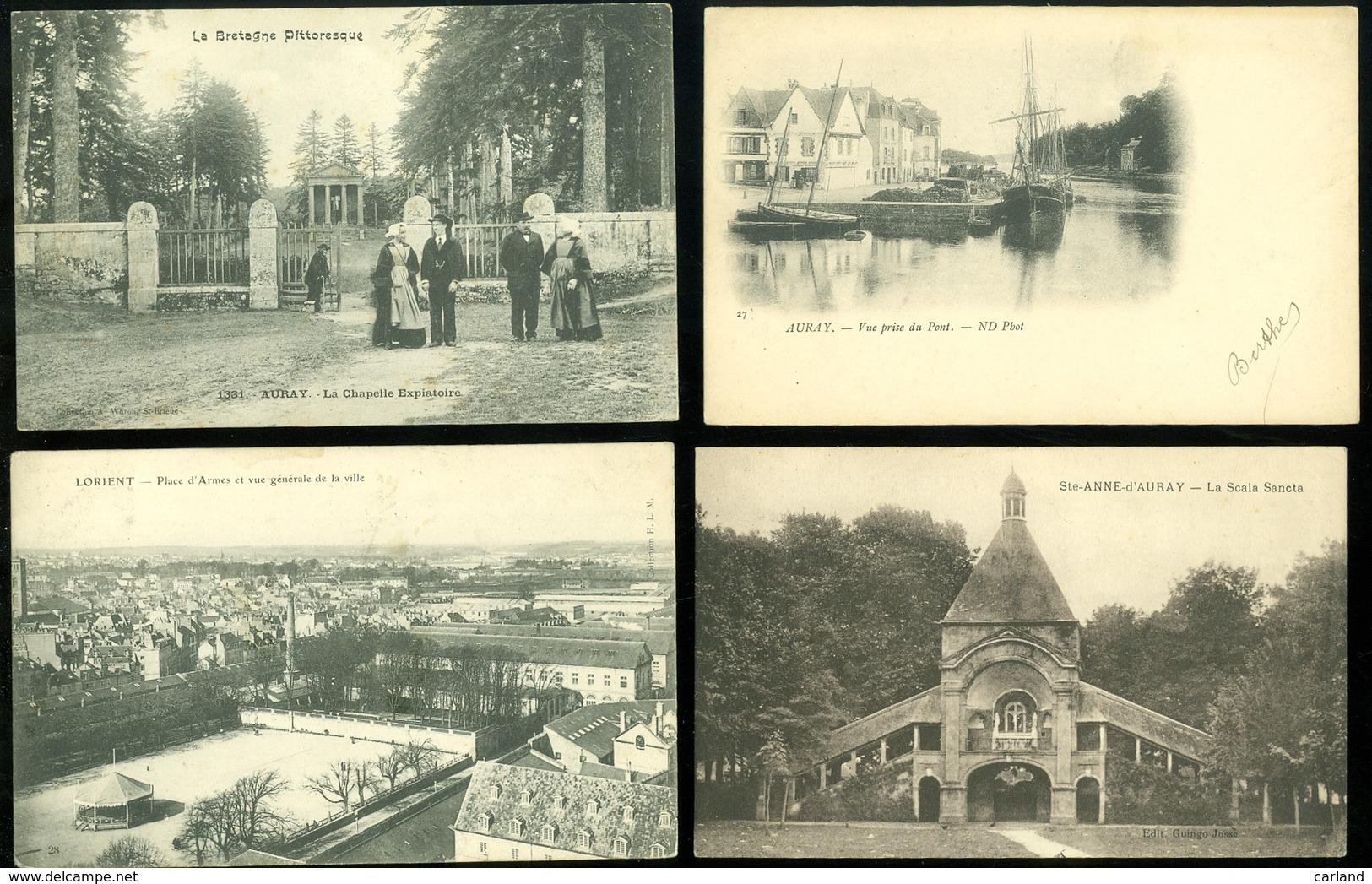 Beau Lot De 60 Cartes Postales De France  Morbihan          Mooi Lot Van 60 Postkaarten Van Frankrijk ( 56 ) - 60 Scans - 5 - 99 Cartes