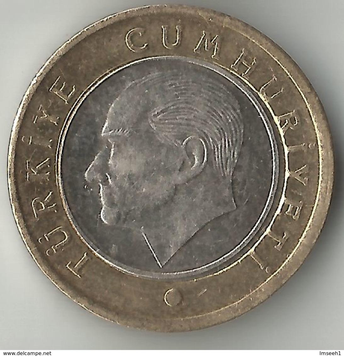 Turkey 1 Lira, 2018 - Turchia