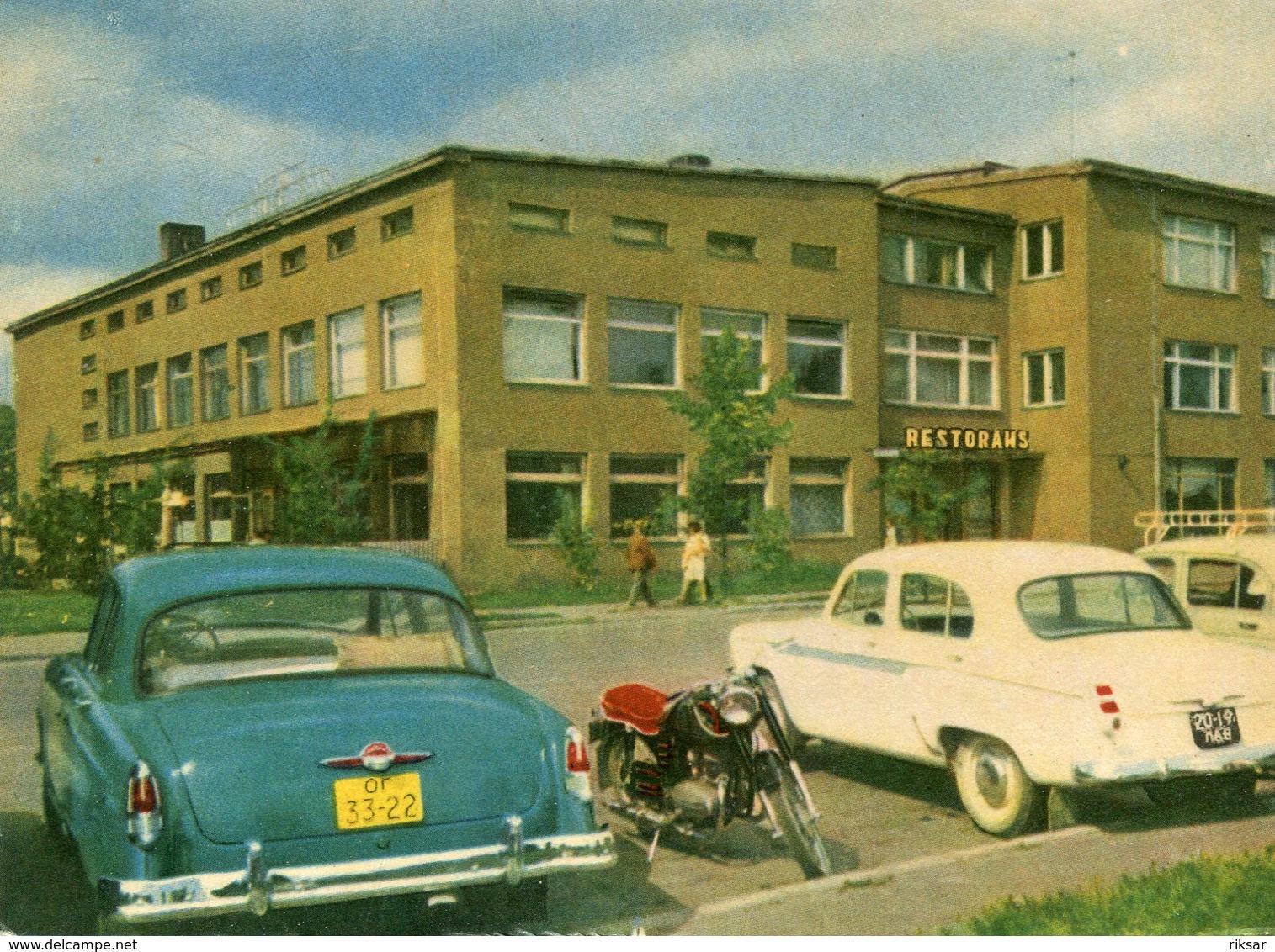 LETTONIE(OGRE) AUTOMOBILE_MOTOCYCLETTE - Lettonie