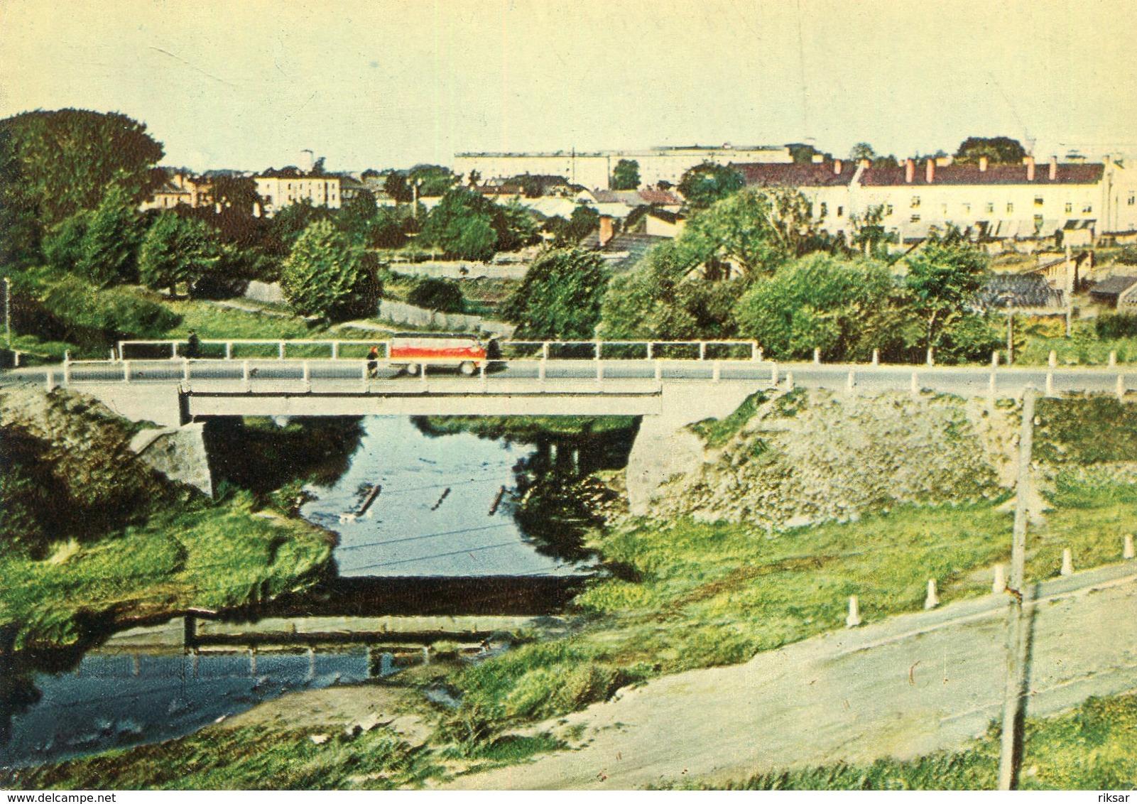 LETTONIE(REZEKNE) AUTOMOBILE - Lettonie