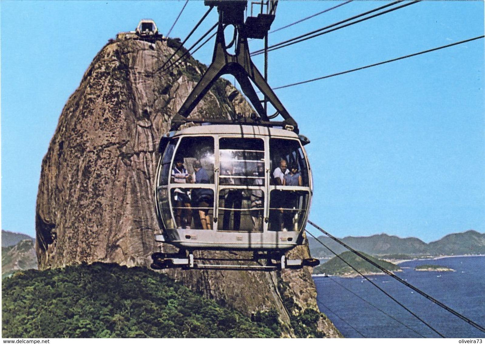 RIO DE JANEIRO: Bondinho Aéreo Ao Pão De Açucar - Rio De Janeiro
