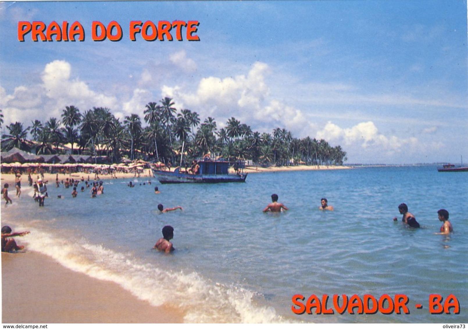 SALVADOR - BAHIA: Praia Do Forte - BRASIL - Salvador De Bahia