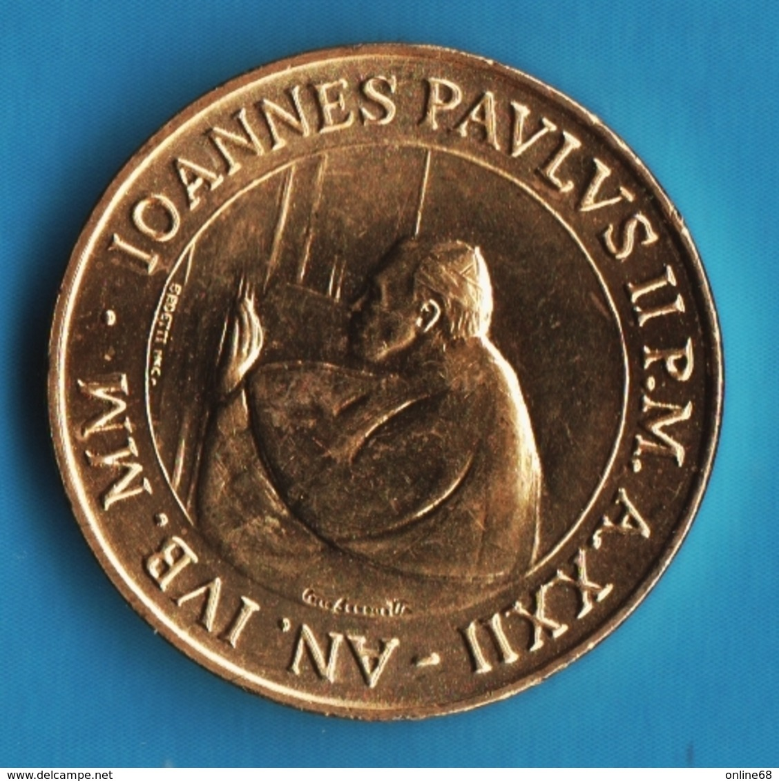 CITTA' DEL VATICANO 50 LIRE 2000  KM# 325 IOANNES PAVLVS II  An.XXII - Vaticano (Ciudad Del)