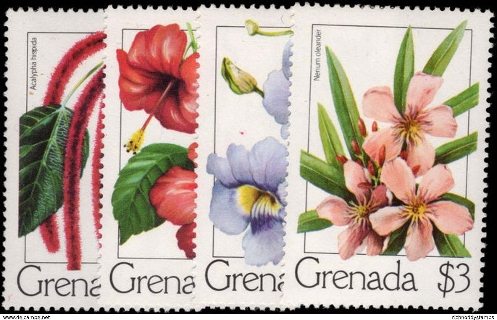 Grenada 1979 Flowers Unmounted Mint. - Grenada (1974-...)