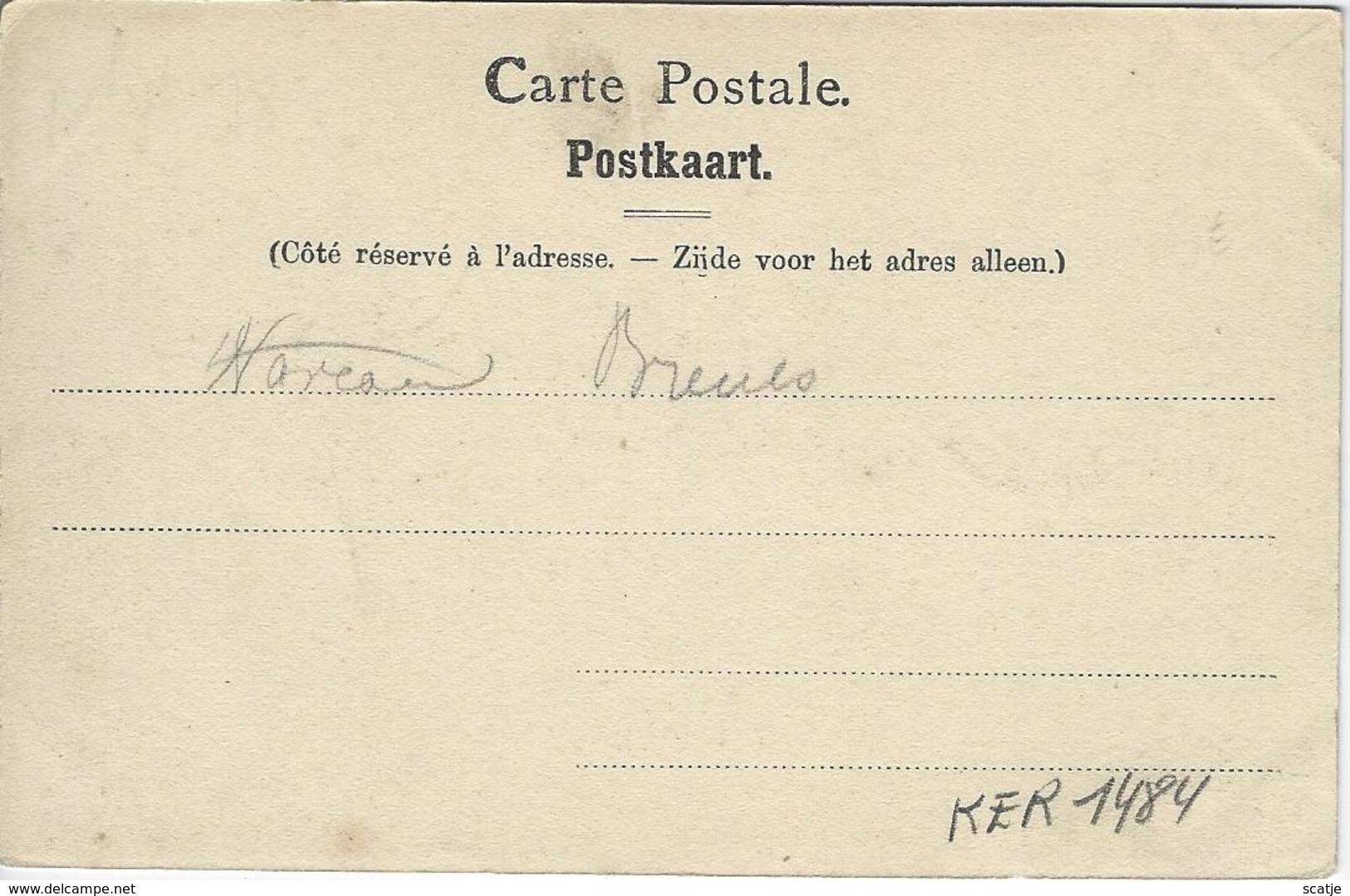 Les Environs De Waremme   -   Château D'Otrange.   -   1900 - Waremme