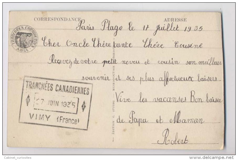 Vimy - German Trenches - Tranchées Allemandes - Colorisée - Guerre 1914-18