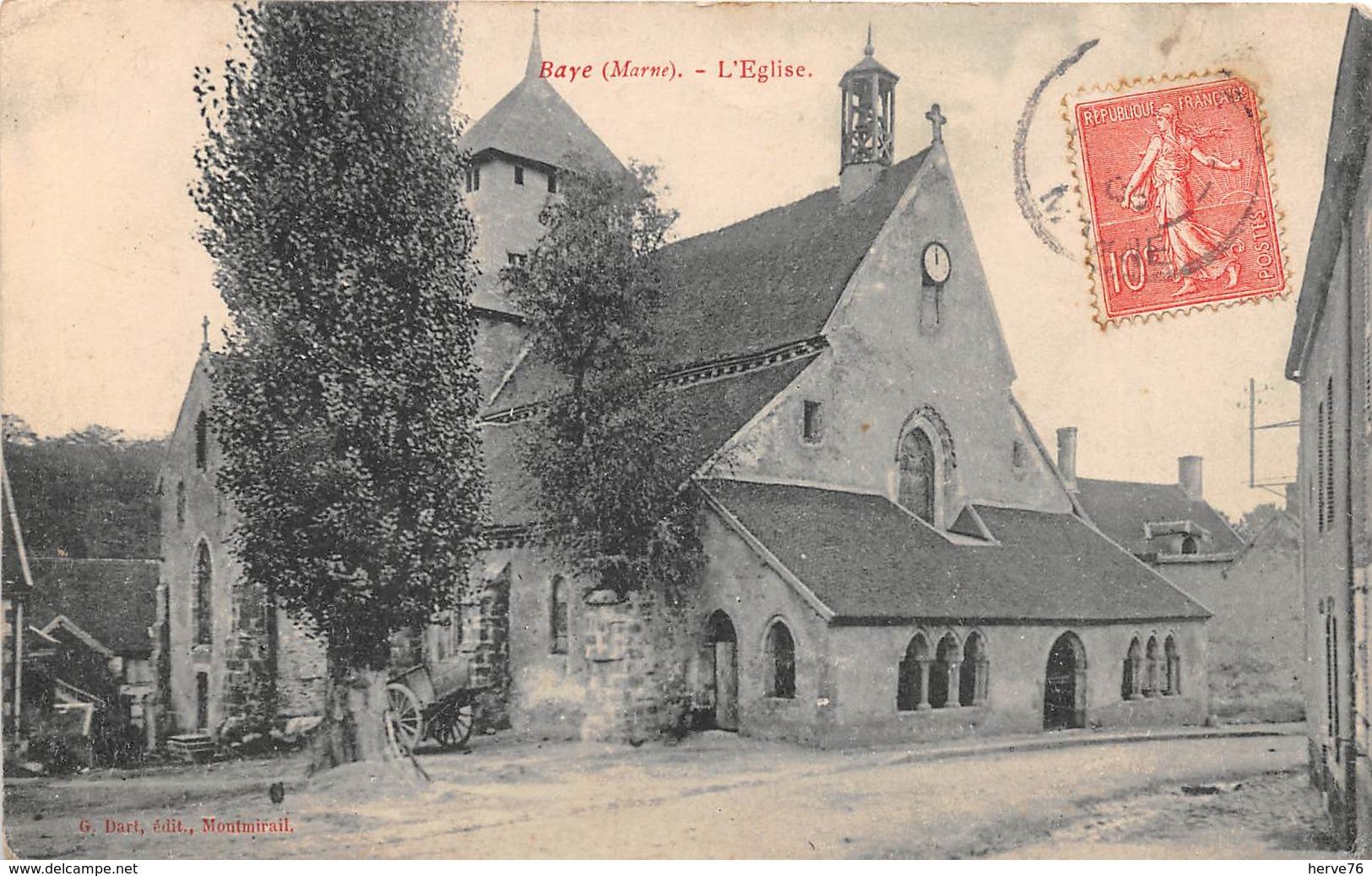 BAYE - L'Eglise - Autres Communes