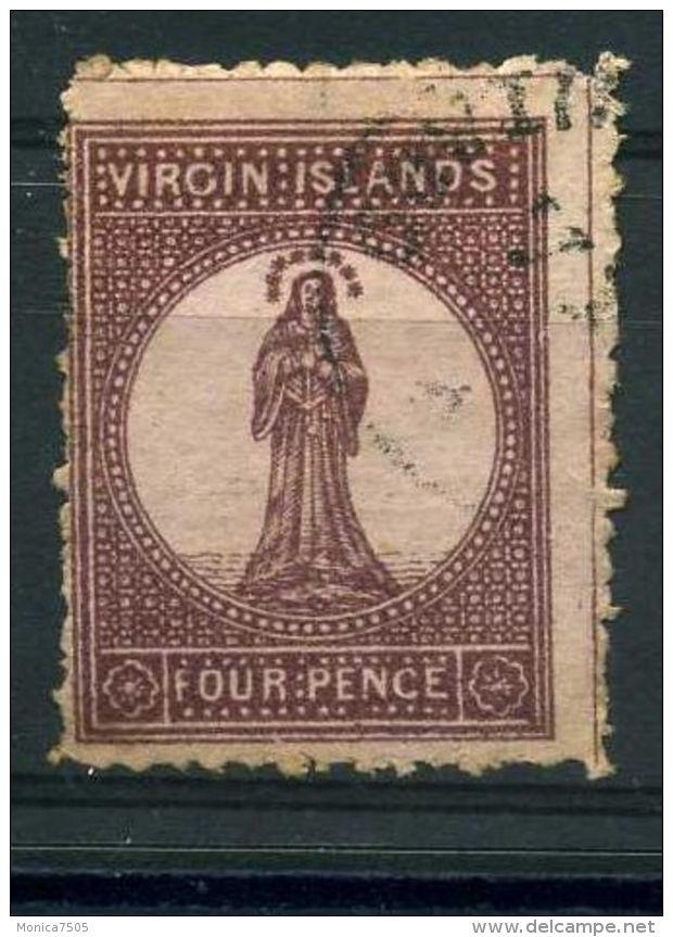 VIERGES ( POSTE ) : Y&T  N°  5  TIMBRE  OBLITERE . - Iles Vièrges Britanniques