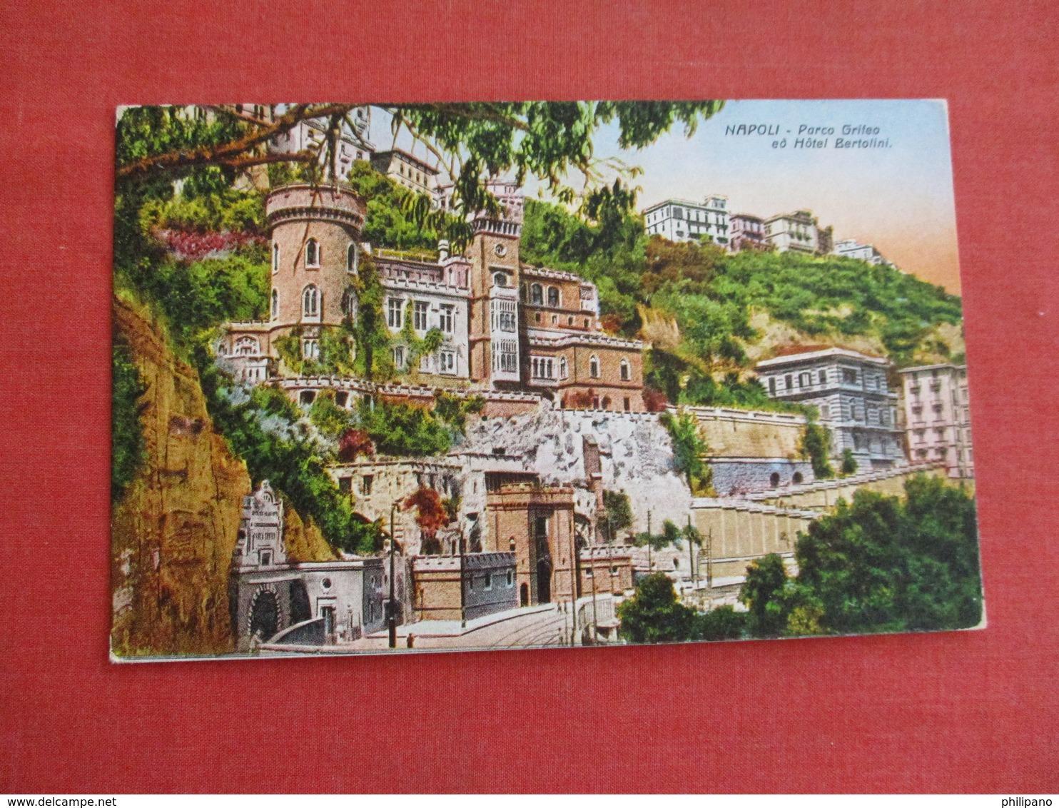 Hotel Bertolini  Italy > Campania > Napoli (Naples)      Ref 3038 - Napoli (Naples)