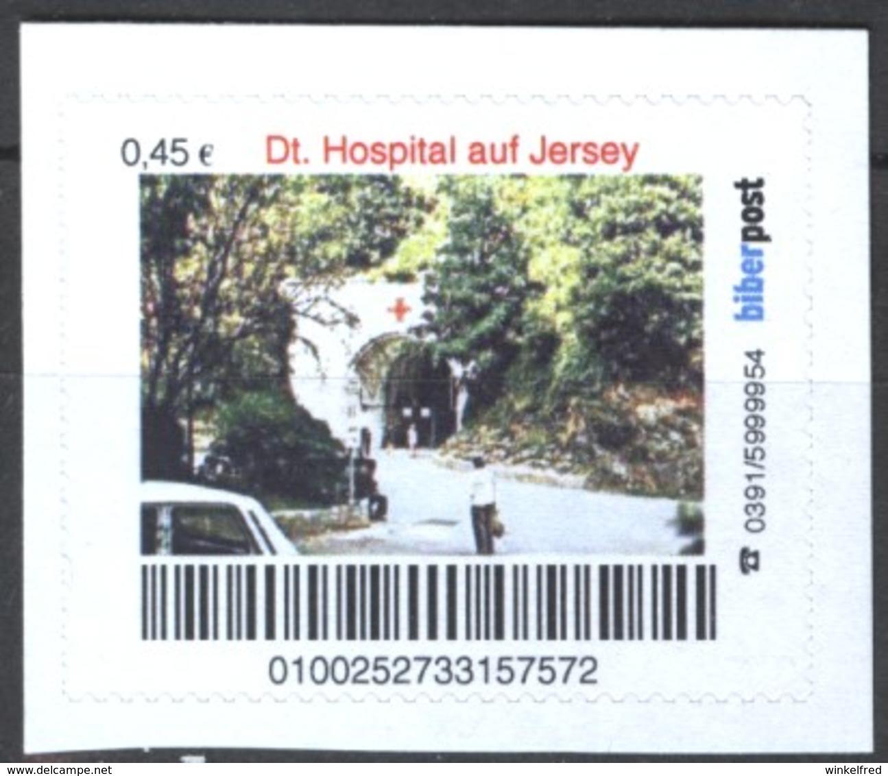 Biber Post Deutsches Hospital Auf Jersey (45)  G441 - [7] Repubblica Federale