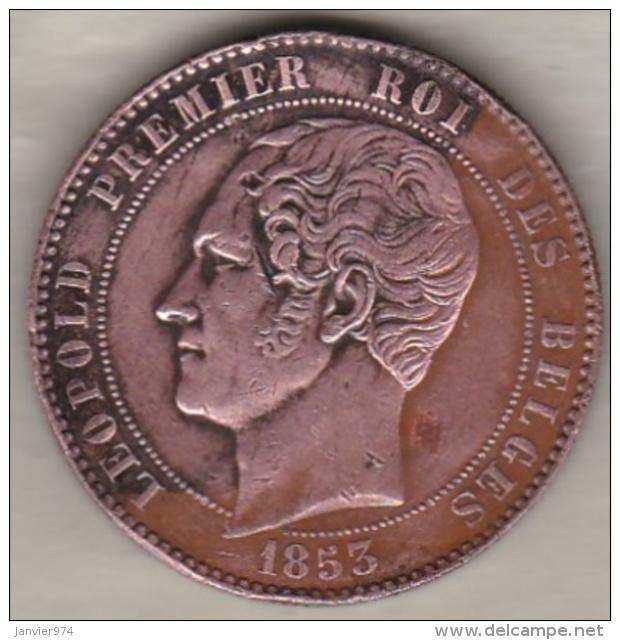 Belgique .Module De 10 Centimes 1853 Mariage Du Duc Et De La Duchesse De Brabant - 1831-1865: Léopold I