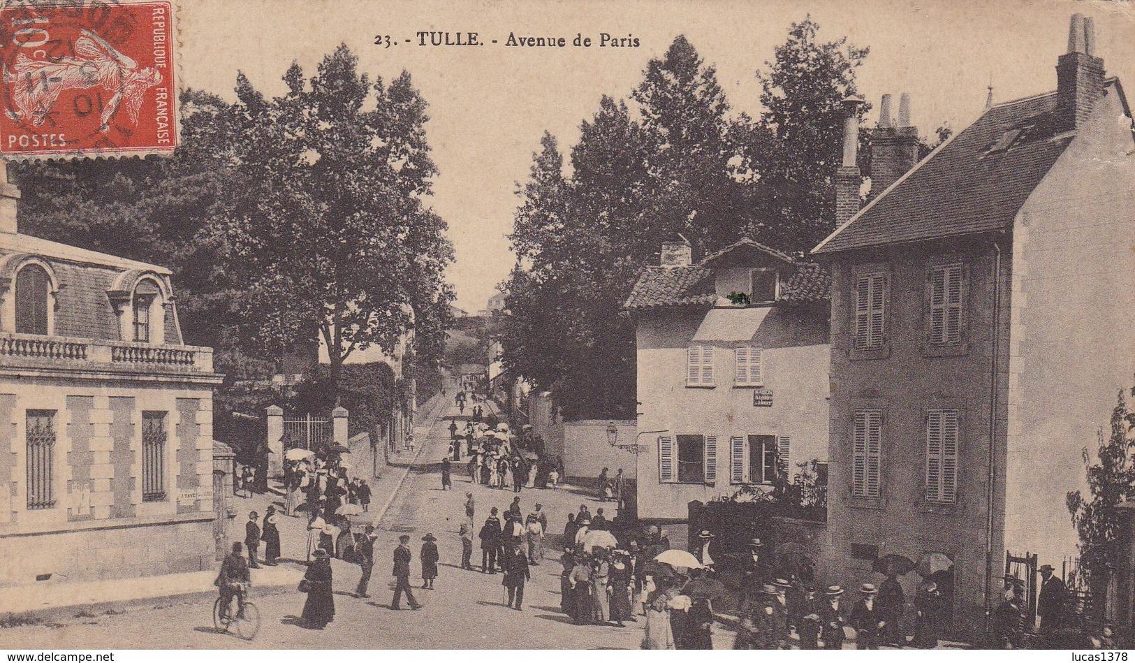 19 / TULLE / AVENUE DE PARIS / JOLIE CARTE - Tulle