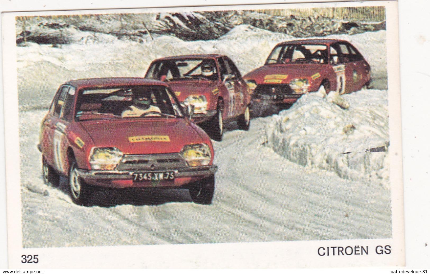 IMAGE 5 X 7,5  Sport Automobile Rallye Des Neiges Et Des Glaces CITROËN GS - Vieux Papiers