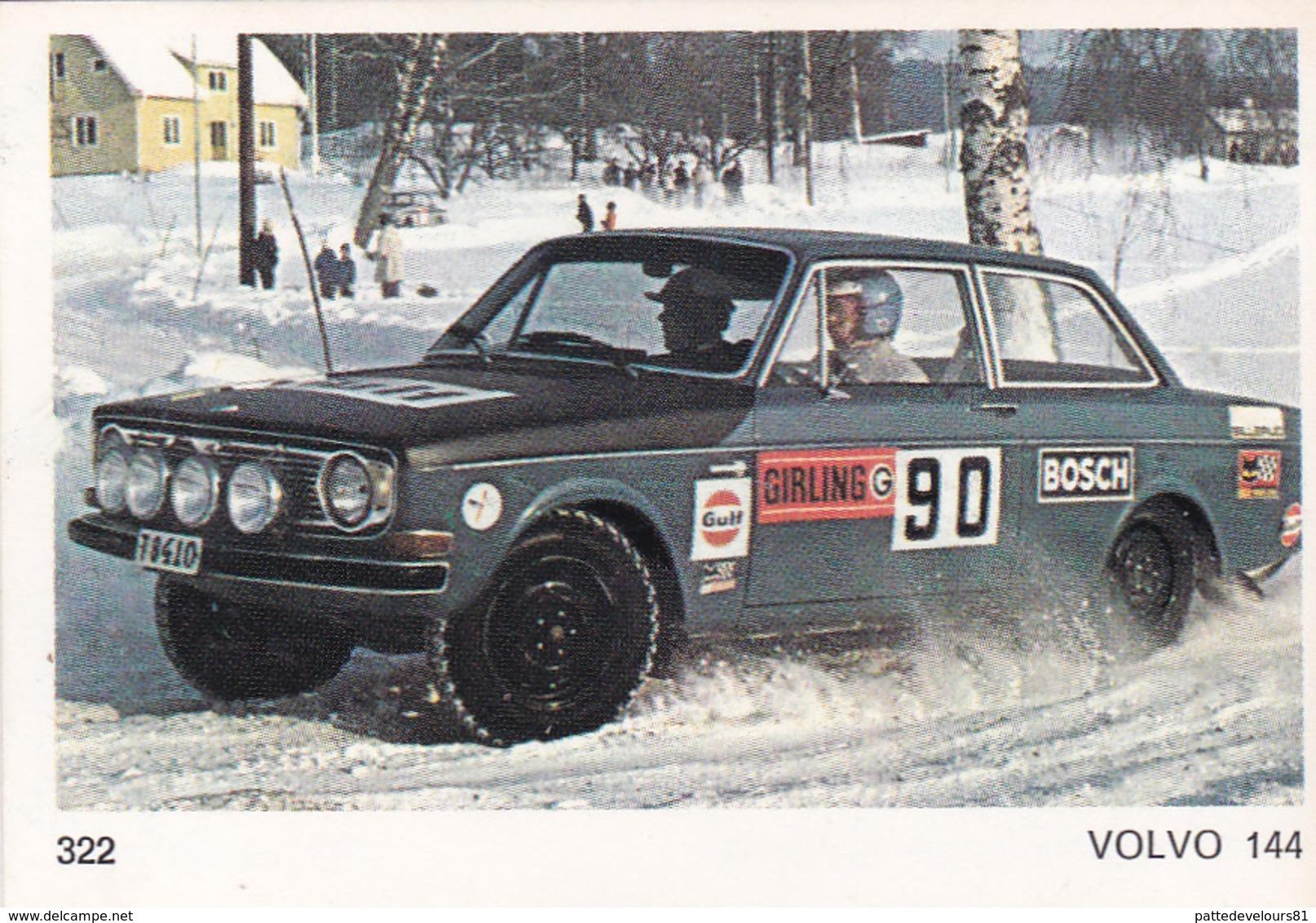 IMAGE 5 X 7,5  Sport Automobile Rallye Des Neiges Et Des Glaces VOLVO 144 - Vieux Papiers