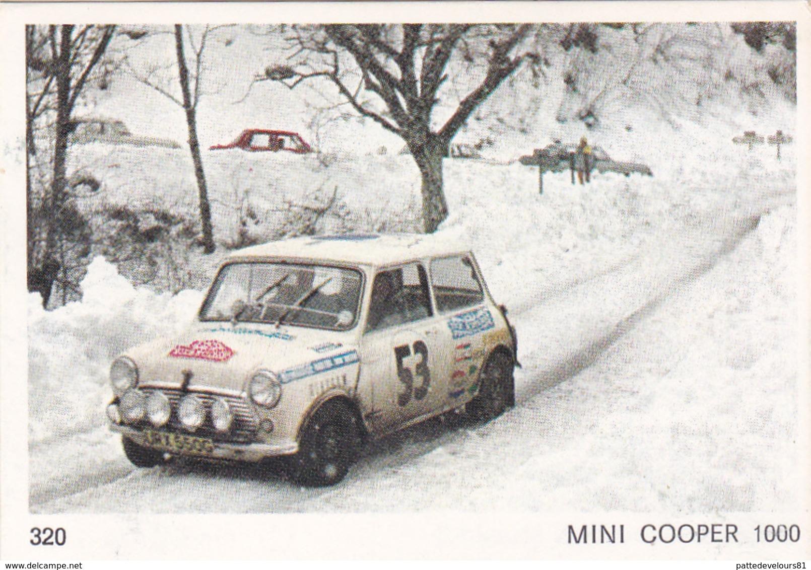 IMAGE 5 X 7,5  Sport Automobile Rallye Des Neiges Et Des Glaces MINI COOPER 1000 - Vieux Papiers