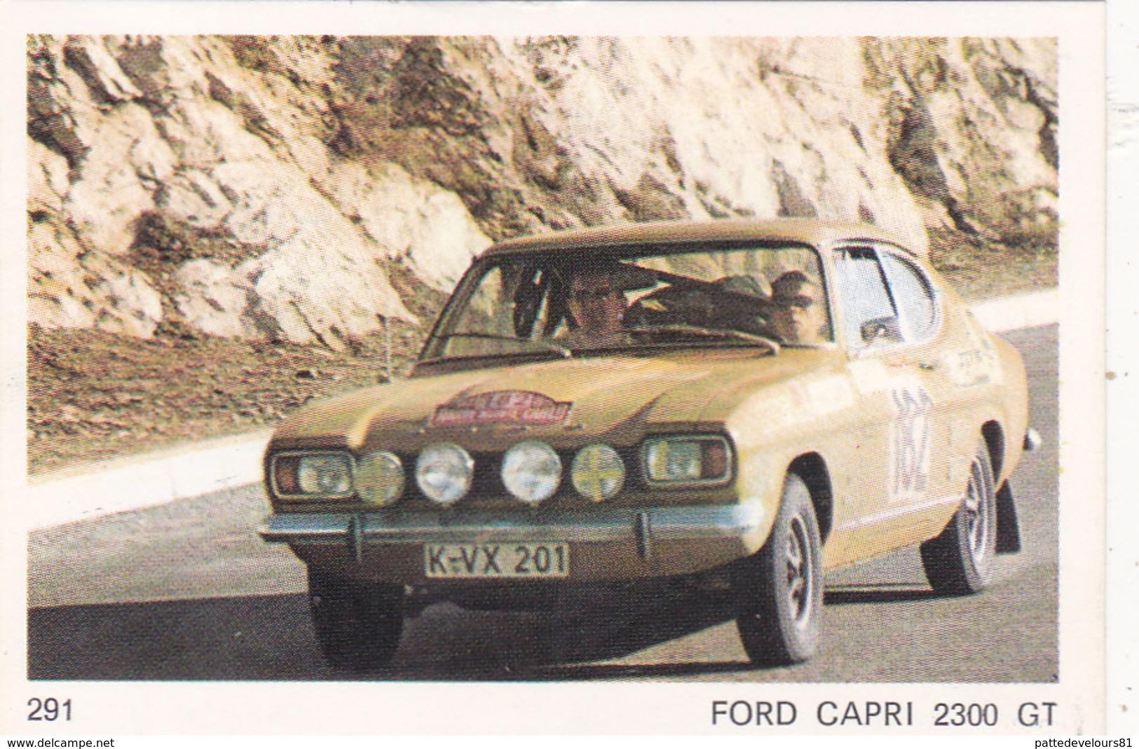 IMAGE 5 X 7,5  Sport Automobile Voiture De Rallye Sport Mécanique FORD CAPRI 2300 GT - Vieux Papiers